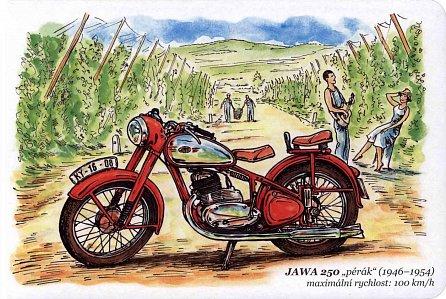 Náhled Československé motocykly