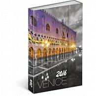 Diář 2016 - Benátky,  10,5 x 15,8 cm