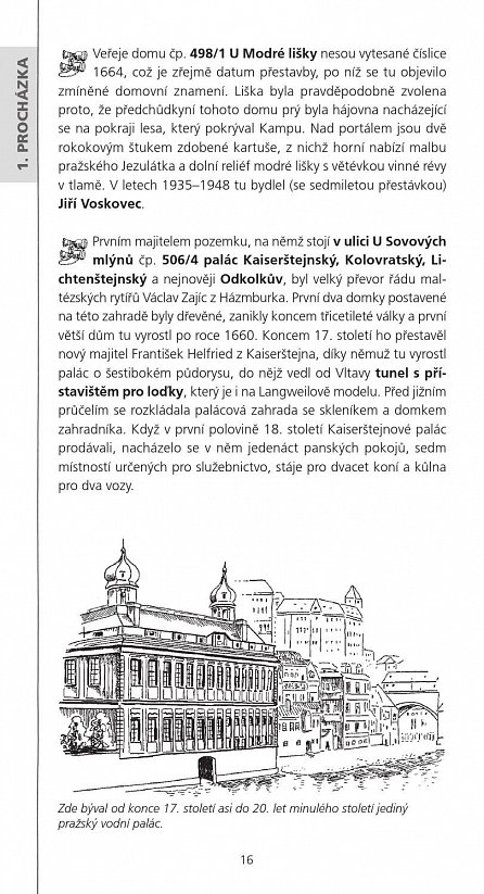 Náhled Netradiční procházky Prahou II- Malá Strana, Hradčany a něco navíc