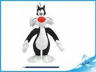 Sylvester plyšový stojící