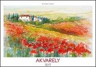 Akvarely 2017 - nástěnný kalendář