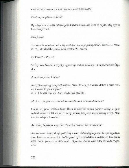 Náhled Knížecí rozhovory s Karlem Schwarzenbergem