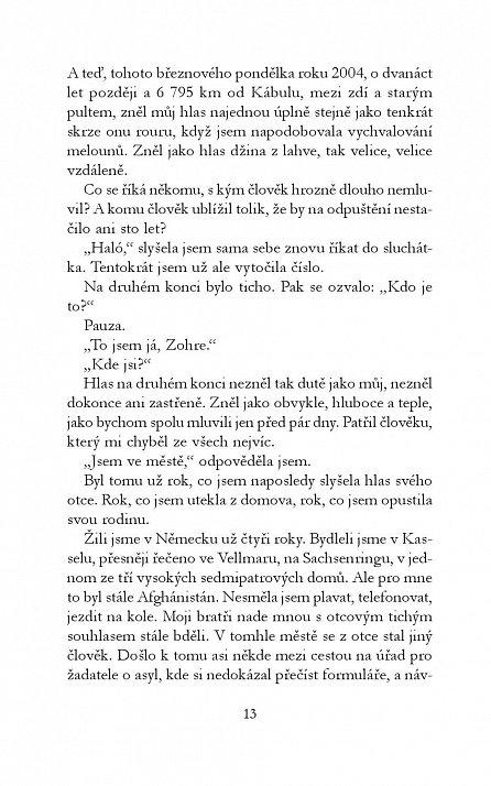 Náhled Moje nová svoboda - Z Kábulu přes předváděcí molo až k sobě samé
