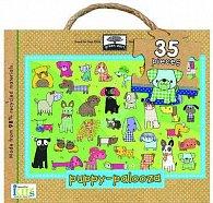Puppy-Palooza Giant Floor Puzzle