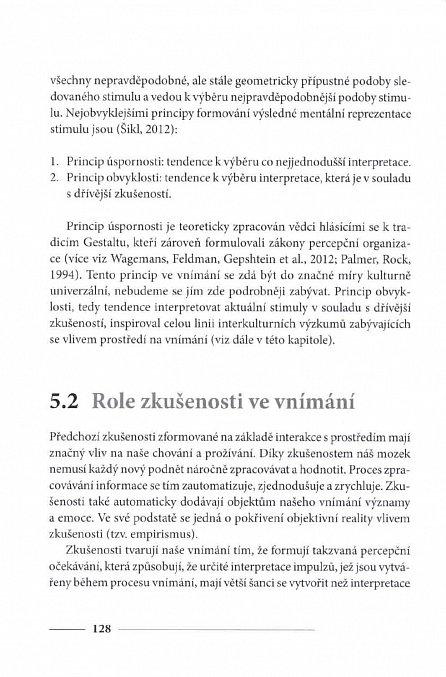 Náhled Interkulturní psychologie - Vybrané kapitoly
