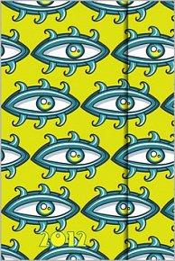 Diář 2012 magnetický - Oči
