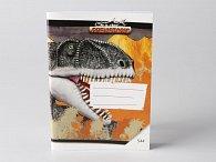 Sešit A5/544, 40 listů linkovaný Prehistoric