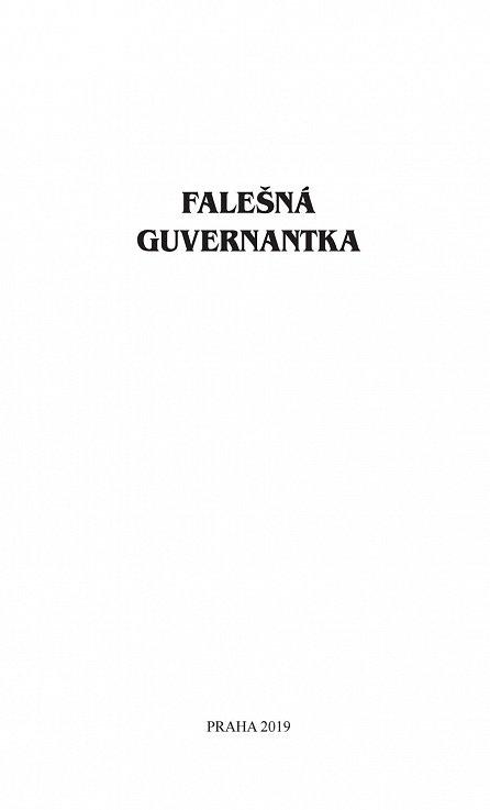 Náhled Falešná guvernantka