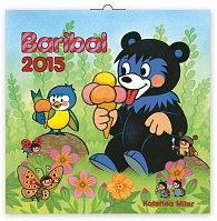 Kalendář 2015 - Medvídek Baribal - nástěnný (CZ, SK, HU, PL, RU, GB, DE, ES)