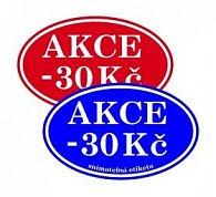 RK balíček slevových etiket 30Kč