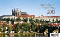 Kalendář stolní 2013 - Praha