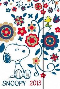 Diář 2013 - magnet. Snoopy 10,5 x 15,8 cm - CZ