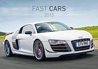 Fast Cars - nástěnný kalendář 2013