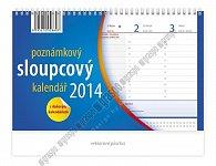 Kalendář 2014 - Poznámkový sloupcový - s