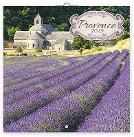 Kalendář 2015 - Provence - voňavý - nástěnný, 30 x 30 cm