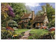 Puzzle Domeček v zahradě 3000 dílků