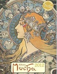 Kalendář nástěnný 2012 - Alfons Mucha 33 x 46 cm