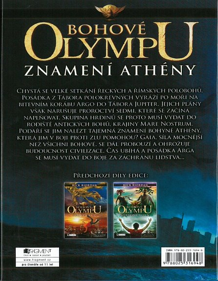Náhled Bohové Olympu – Znamení Athény