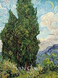Vincent van Gogh - nástěnný kalendář 2014