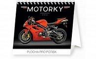 Kalendář stolní 2016 - Motorky Praktik,  16,5 x 13 cm
