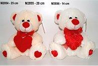 Medvídek se srdcem 25 cm