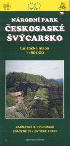 Českosaské Švýcarsko 1:50 000