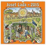 Kalendář 2015 - Josef Lada Léto - nástěnný s prodlouženými zády