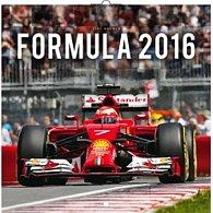 Kalendář nástěnný 2016 - Formule - Jiří Křenek, poznámkový  30 x 30 cm