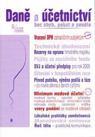 Daně a účetnictví bez chyb, pokut a penále 5/2005