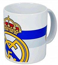 Hrnek keramický - FC Real Madrid/bílo-modrý