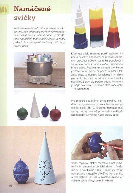 Náhled Svíčky - výroba a zdobení