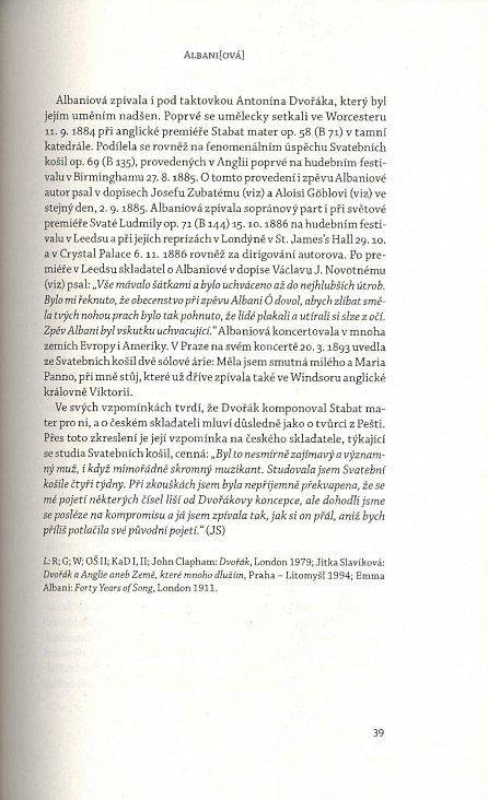 Náhled Antonín Dvořák - Reflexe osobnosti a díla. Lexikon osob