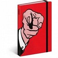 Diář 2016 - Roy Lichtenstein,  10,5 x 15,8 cm (CZ, SK, HU, PL, RU, GB)