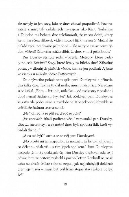 Náhled Harry Potter a Kámen mudrců