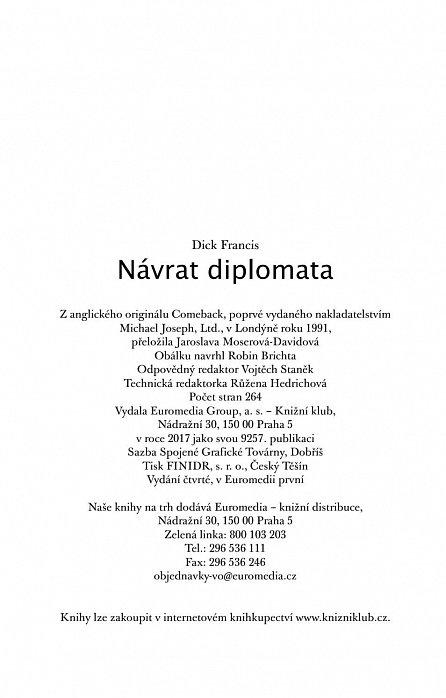 Náhled Návrat diplomata