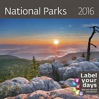 Kalendář nástěnný 2016 - National Parks 300x300