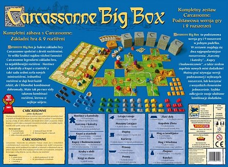 Náhled Carcassonne - Big box
