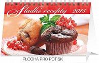 Kalendář 2015 - Sladké recepty - stolní týdenní