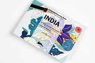 India Postcard Colouring Book