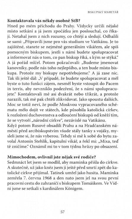 Náhled Boha neokecáš - Josef Mixa v rozhovoru s Vítem Hájkem