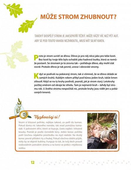 Náhled Slyšíš, jak mluví stromy? - Co všechno můžeš objevit v lese