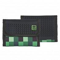 Pixie Peněženka PXA-10 zelená kostka