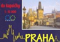 Praha do kapsičky 1:15 000