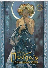 Kalendář nástěnný 2013 - Alfons Mucha - 33x46 cm