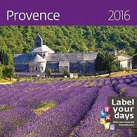 Kalendář nástěnný 2016 - Provence