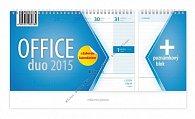 Kalendář 2015 - Office duo stolní
