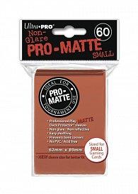 UltraPRO: 60 DP PRO Matte Small obaly - Broskvová