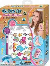 Glitz Up Body Tatoo - Ocean