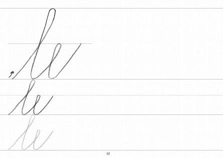 Náhled Písanka 2 – Tahy, čáry – Nácvik písma
