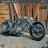 Kalendář 2011 - Harleys (30x60) nástěnný poznámkový